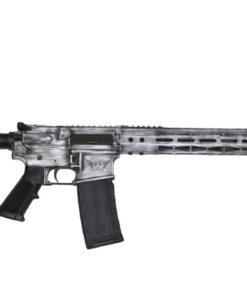 Advanced Combat AR-15 White Battle worn Cerakote