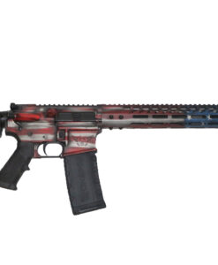 Advanced Combat AR-15 American Flag Cerakote