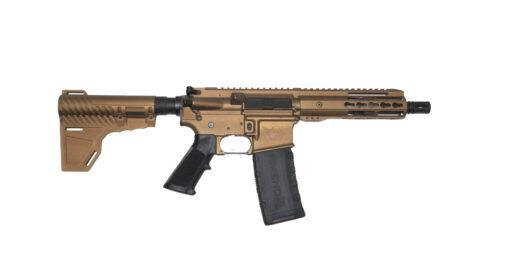 Advanced Combat AR-15 Pistol Burnt Bronze Cerakote