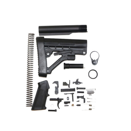 AR-15 Buffer Kit and Complete Lower Parts Kit