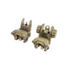Tiger Rock Inc Flip-Up Sights Tan Polymer